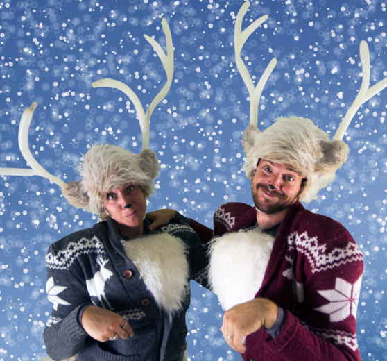Celebrity Reindeer